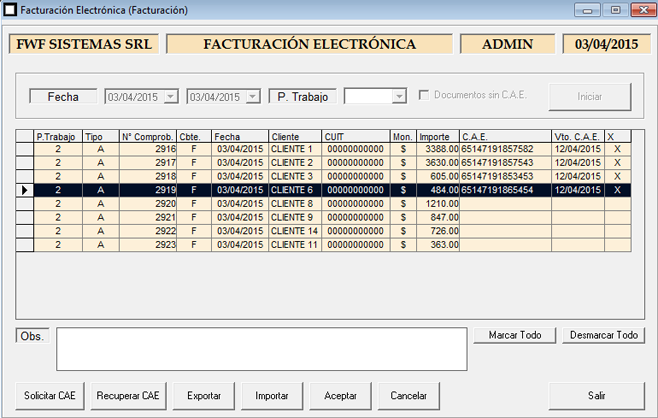 ERP Naitiva - Factura Electrónica