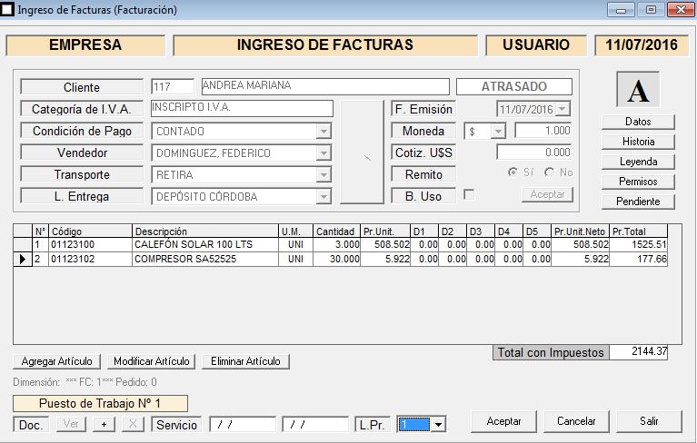 ERP Naitiva - Facturacion Electronica